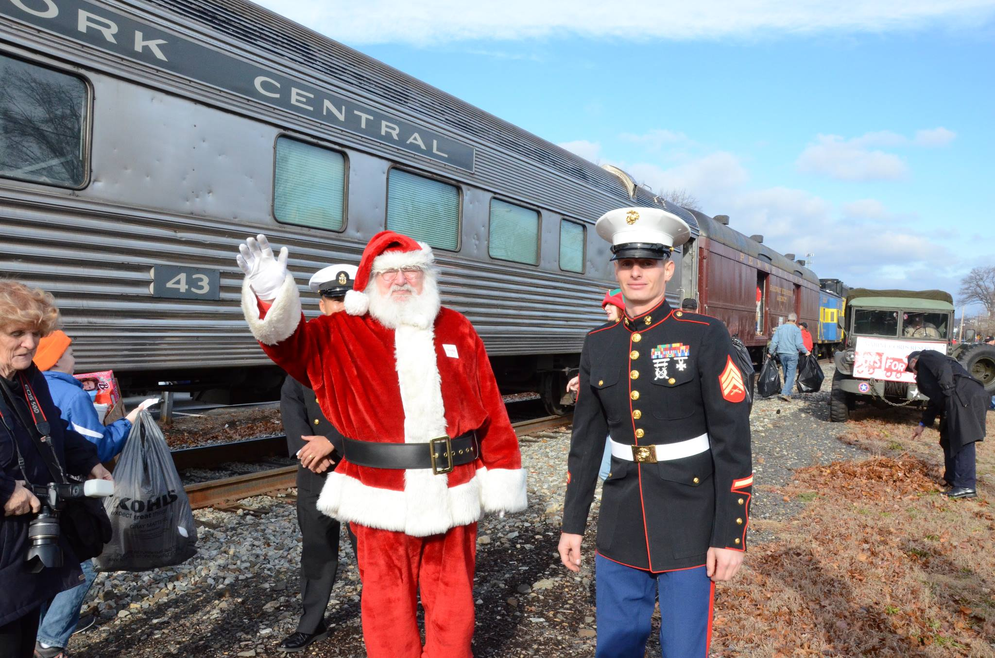 Toys For Tots Train Logo : Nys w toys for tots train on december th volunteer