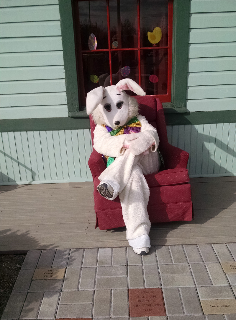 Easter Bunny to Visit Hawthorne Station